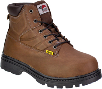 "Men's Avenger 6"" Steel Toe Metguard Work Boot 7302"