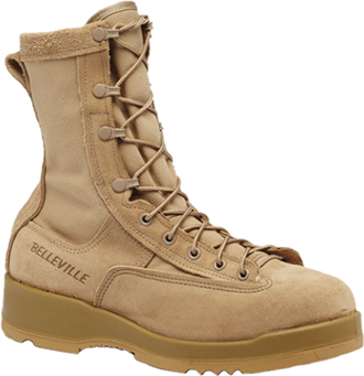 "Men's Belleville 8"" Steel Toe Military Boot (U.S.A.) 330DESST"
