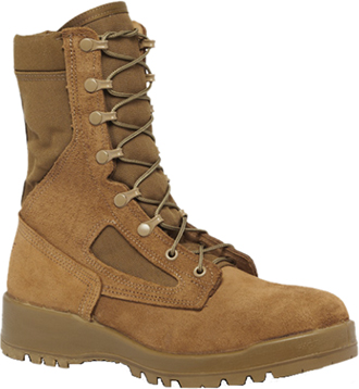 "Men's Belleville 8"" Steel Toe Military Boot (U.S.A.) 551ST"