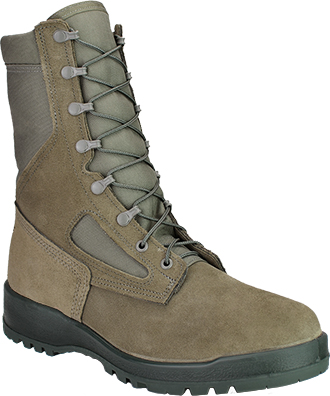 "Men's Belleville 8"" Steel Toe Military Boot (U.S.A.) 600ST"