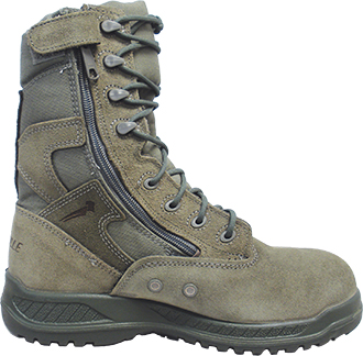 "Men's Belleville 8"" Steel Toe Side-Zipper Military Boot (U.S.A.) 610ZST"