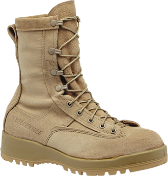 "Men's Belleville 8"" Steel Toe WP Military Boot (U.S.A.) 790ST"
