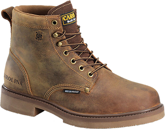 "Men's Carolina 6"" Steel Toe WP Work Boots CA3544"