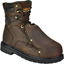 "Men's Carolina 8"" Steel Toe Metguard Work Boot 579"