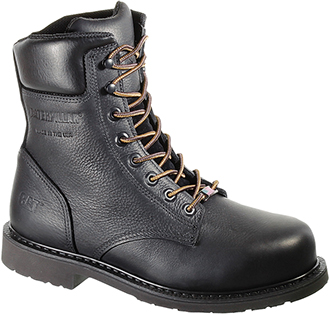 "Men's Caterpillar 8"" Steel Toe Work Boot (U.S.A.) P90240"