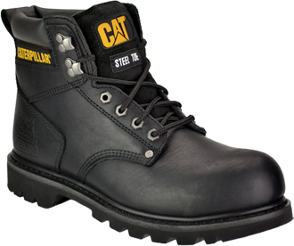 "Men's Caterpillar 6"" Steel Toe Work Boot P89135"