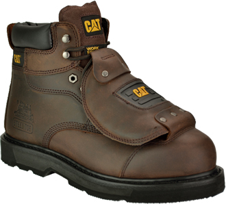"Men's Caterpillar 6"" Steel Toe Metguard Work Boot P89311"
