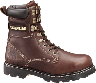 "Men's Caterpillar 8"" Steel Toe Work Boot P89369"