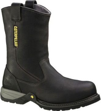"Men's Caterpillar 10"" Steel Toe Wellington Work Boot P89725"