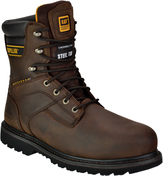 "Men's Caterpillar 8"" Steel Toe WP/Insulated Work Boot P89785"