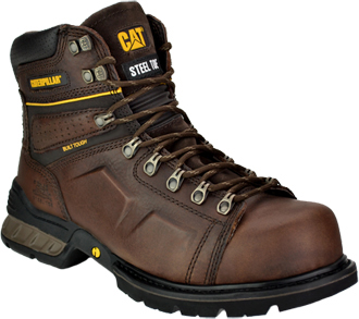 "Men's Caterpillar 6"" Steel Toe Work Boot P89858"