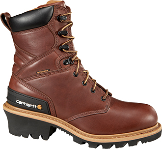"Men's Carhartt 8"" Steel Toe WP Logger Work Boot CML8230"