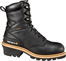 "Men's Carhartt 8"" Steel Toe WP Logger Work Boot CML8231"