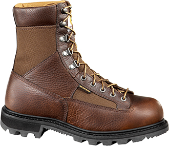 "Men's Carhartt 8"" Steel Toe WP Logger Work Boot CML8250"