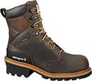 "Men's Carhartt 8"" Composite Toe WP Logger Work Boot CML8360"