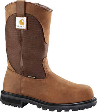"Men's Carhartt 11"" Steel Toe WP Wellington Work Boot CMP1220"