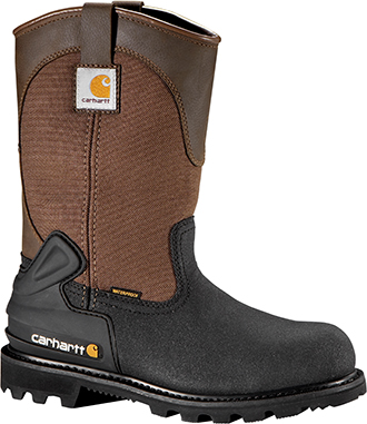 "Men's Carhartt 11"" Steel Toe WP/Insulated Wellington Work Boot CMR1899"