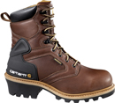 "Men's Carhartt 8"" Steel Toe WP Logger Work Boot CML8220"