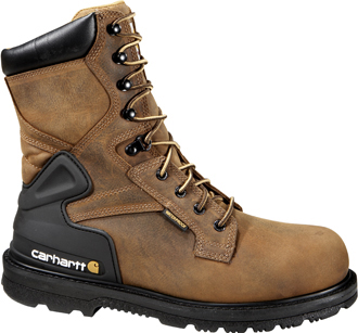 "Men's Carhartt 8"" Steel Toe WP Work Boot CMW8200"