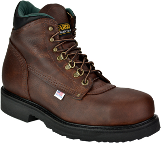 "Men's Carolina 6"" Steel Toe Work Boot (U.S.A.) 1309"
