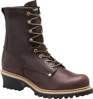 "Men's 8"" Carolina Steel Toe Logger Work Boot 1821"