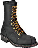 "Men's Carolina 10"" Steel Toe Linesman Work Boot (U.S.A.) 1905"