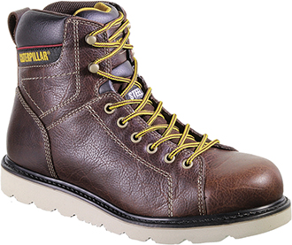 "Men's Caterpillar 6"" Steel Toe Wedge Sole Work Boot P90260"
