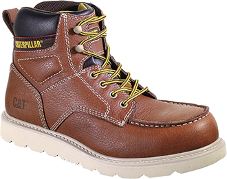 "Men's Caterpillar 6"" Alloy Toe Wedge Sole Work Boot P90261"