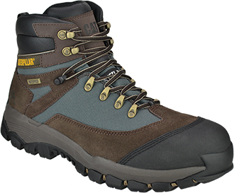 "Men's Caterpillar 5"" Steel Toe WP Hiker Work Boot P90280"