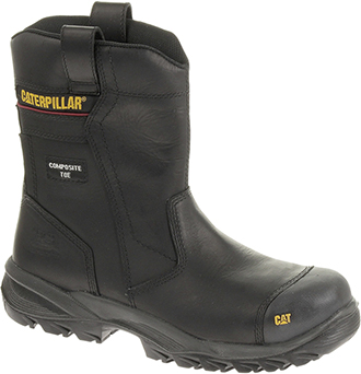 Men's Caterpillar Composite Toe Wellington Work Boot P90321