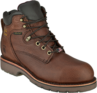 "Men's Chippewa Boots 6"" Steel Toe WP Work Boot (U.S.A.) 25223"
