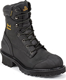 "Men's Chippewa Boots 8"" Composite Toe WP/Insulated Logger Work Boot 55058"