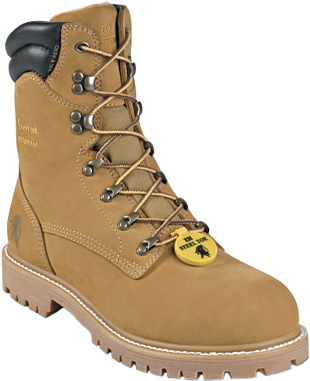 "Men's Chippewa Boots 8"" Steel Toe WP Work Boot 55065"