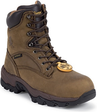 "Men's Chippewa Boots 8"" Composite Toe WP/Insulated Work Boot 55168"