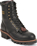 "Men's Chippewa Boots 8"" Steel Toe WP/Insulated Logger Work Boot 73050"