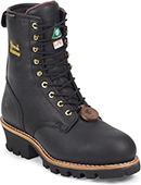 "Men's Chippewa Boots 8"" Steel Toe WP/Insulated Logger Work Boot CA73050"