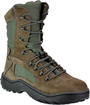 Women's Side-Zipper Steel Toe Boots