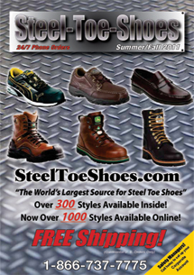 Steel Toe Shoes Catalog Cover
