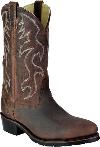 "Men's Double H 12"" Steel Toe Western Boot (U.S.A.) 2282"