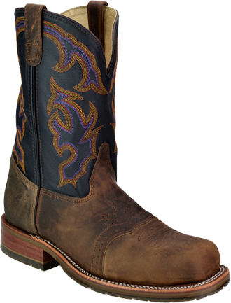 "Men's Double H 11"" Steel Toe Western Boot (U.S.A.) DH3551"