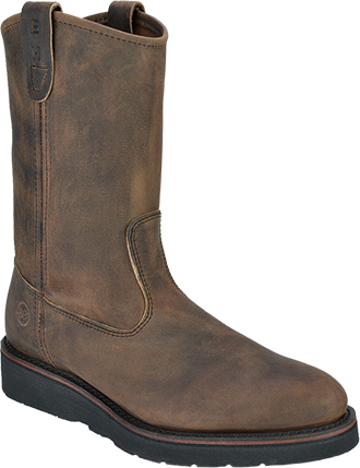 "Men's Double H 10"" Steel Toe Wellington Wedge Sole Boot (U.S.A.) 3820"