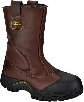 Men's Dr. Martens Steel Toe WP Wellington Rigger Work Boot R14116200