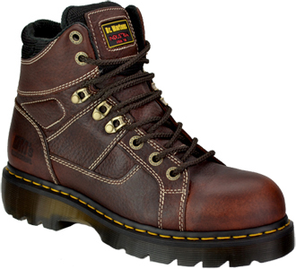 "Men's Dr. Martens 6"" Steel Toe Work Boot R12721200"