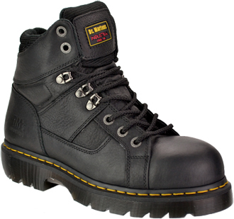 "Men's Dr. Martens 5"" Extra Wide Steel Toe Work Boot R13400001"