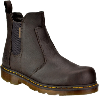 "Men's Dr. Martens 6"" Steel Toe Slip-On Work Boot R13351201"