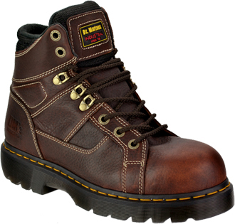 "Men's Dr. Martens 6"" Extra Wide Steel Toe Work Boot R13400200"