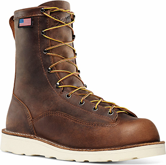 "Men's Danner 8"" Steel Toe Wedge Sole Work Boots 15558"