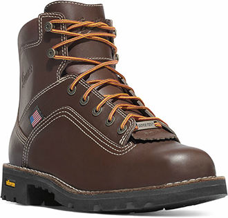 "Men's Danner 6"" Steel Toe WP Work Boots 17303"