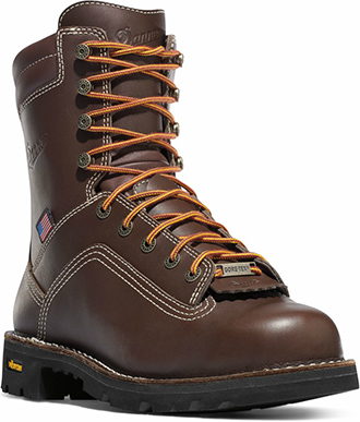 "Men's Danner 8"" Alloy Toe WP Work Boots 17307"