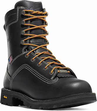 "Men's Danner 8"" Alloy Toe WP Work Boots 17311"